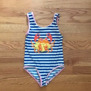 Mini Boden one piece swim suit